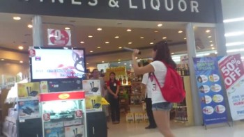 A Random Girl Steps Up to a Karaoke Machine...And Stuns Everyone!