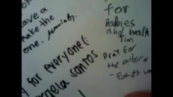 3/27/11 I SIGNED the PRO-LIFE WALL @ ROSEBOWL LIFE RALLY !