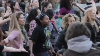 A Flash Mob to End Violence to Women and Girls!