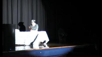 Christian skit satan and Grandma skit with Three Bridges in concert at Scottssing