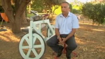 Israelis Create Cardboard Bicycle
