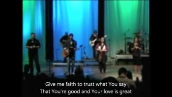 Give Me Faith - Brandon Deitz - Gateway Community Church
