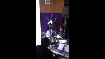 Arison Walton's Socialcam - Sister-in-Law, Jo-Jo, on the Drums