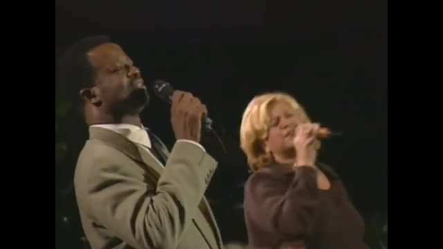 Larnelle Harris and Sandi Patty - I've Just Seen Jesus