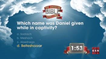 The American Bible Challenge - Trivia Countdown #1