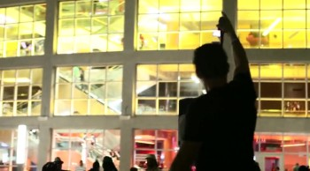 Rawsrvnt's 'On Fire' at the Miami Heat AmericanAirlines Arena (@Rawsrvnt @MiamiHEAT #imonfire)