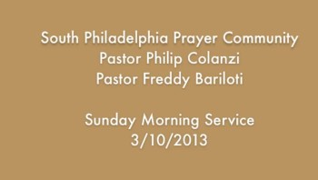 SPPC Sunday Morning Service - 3/10/13
