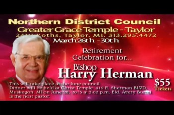 Northern District Council Promo from Bishop Gary Harper