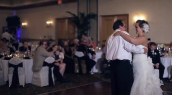 Father of the Bride's Emotional Surprise Song For His Daughter