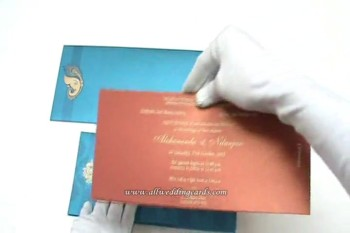 Hindu Wedding Cards, Muslim Wedding Cards