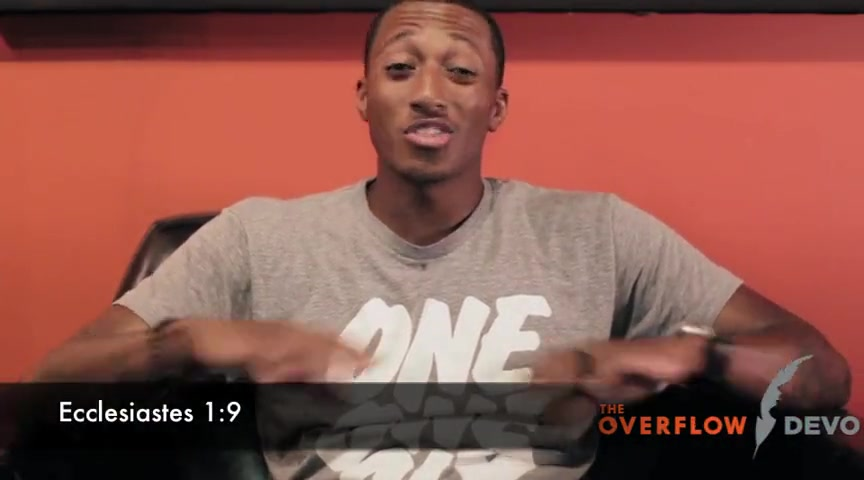 Lecrae - The Overflow Devo - Gravity - Inspirational Videos