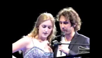 Josh Groban Sings The Prayer with a Lucky Audience Member...and She's AMAZING!