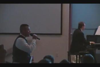 U.S Marine Groom Sings to His Bride - Josh Groban When You Say You Love Me
