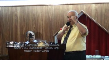 El ángel del Señor cuida de nosotros. Pastor Walter Garcia. 10-03-2013