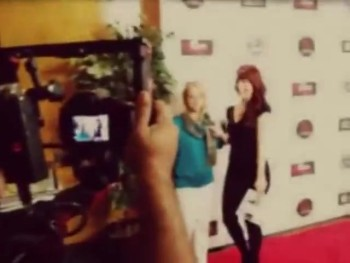 Kerri on the Red Carpet
