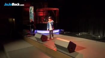 Lift Your Praise - JoJo Rock 9 year old Rapper LIVE