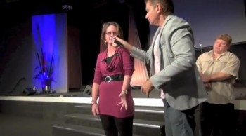 Painful frozen arm miracle healing