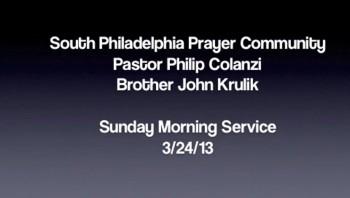 SPPC Sunday Morning Service - 3/24/13