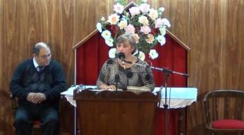 Conociendo y teniendo comunión con Jesucristo. Hna. Viviana Garcia. 17-03-2013
