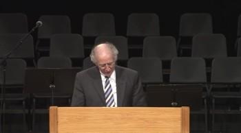 John Piper's Last Sermon