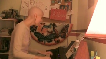 Girl Fighting Cancer Beautifully Sings a Touching Adele Song