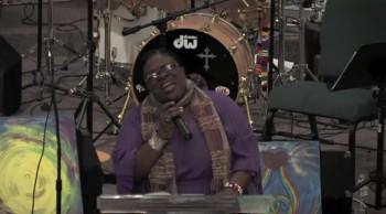 Former X Factor Contestant Panda Ross Sings Gospel at Church