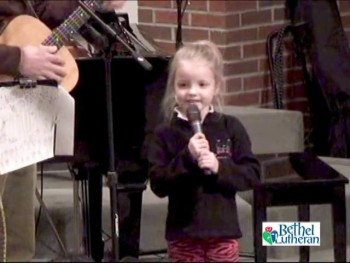 Julia & Joe teach a song (3-6-13)