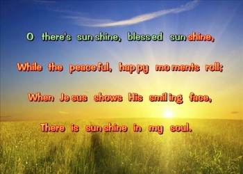 Sunshine In My Soul (Stereo)