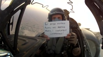 U.S. Airman Gives Touching Wedding Message to His Brother