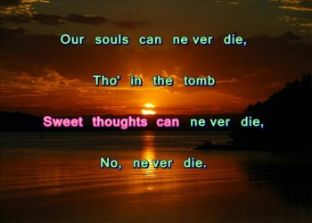 Kind Word Can Never Die (Stereo)