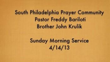 SPPC Sunday Morning Service - 4/14/13