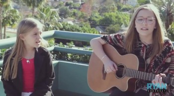 Sisters Sing an Amazing Duet of I Won't Give Up
