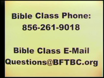 BFTBC – Hebrews 13:14-17 – Sunday Bible Study  – Daniel S. Waite