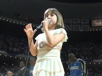 Autistic Girl Bravely Sings a Stunning National Anthem in Front of Thousands!