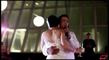 Groom Sings to Bride During First Dance All I Want is You by U2