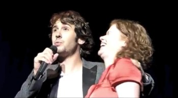 Josh Groban Sings The Prayer With a Fan From Ireland