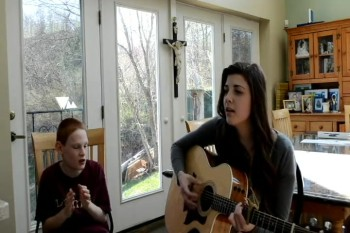 Chris and Grace Sing for the People of Boston