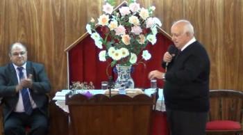 Jesucristo fuente de salvación. Alabando a Dios con alegria. Pastor Walter Garcia. 07-04-2013
