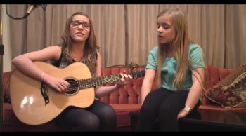 God given talent. 2 sisters Lennon and Maisy singing a beautiful song.