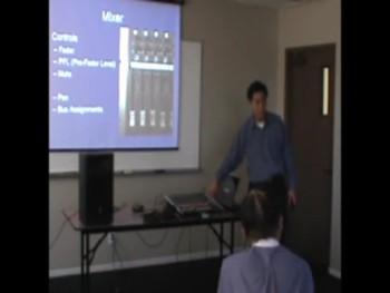 EFCOC Media Center Training Class 7 (Mixer) 2013年04月21日