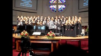 Carolina Youth Chorale Sings Gloria by Mozart