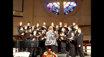 Oaks of Righteousness Men's Ensemble Sings Ain't No Rock Gonna Shout For Me