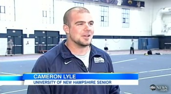 College Athlete Gives Up Career to Save the Life of a Stranger
