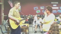 Marine Surprises His Mother by Singing Her the Sweetest Song!