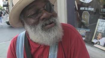 Street Performer Grandpa Elliot Sings Stand By Me