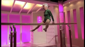 This 86-Year-Old Gymnast Has AMAZING Skills and Strength!