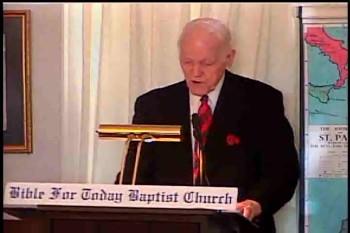 """BFTBC – 1 Thessalonians 2:11-20 – """"28  Ways the Bible Works""""  – Pastor D. A. Waite"""