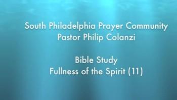 SPPC Bible Study - Fullness of the Spirit (11)
