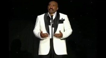 Steve Harvey Gives Tearful Goodbye Speech