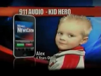 The Emotional 911 Call by a 4 Year-Old That Saved His Moms Life